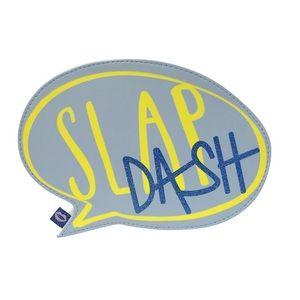 Slap dash speech bubble cosmetic bag